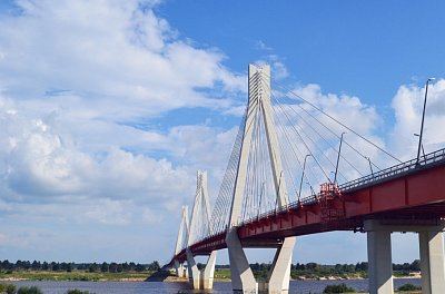 Murom cable-stayed bridge