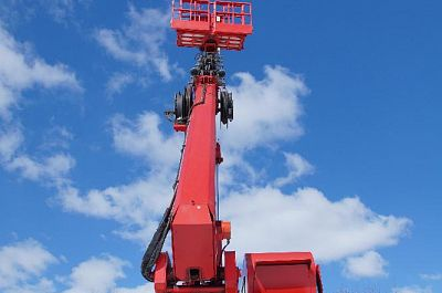 Rent the all road Aerial work platform truck KAMAZ, 32 meter jib